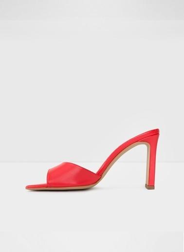 Aldo Lucerne-Tr - Kirmizi Kadin Topuklu Terlik Kırmızı